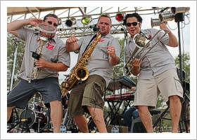 Cold Sweat and the Brew City Horns